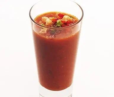 Gazpacho i det gröna