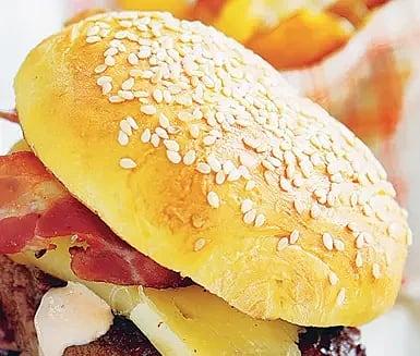 Klassiska hamburgerbröd