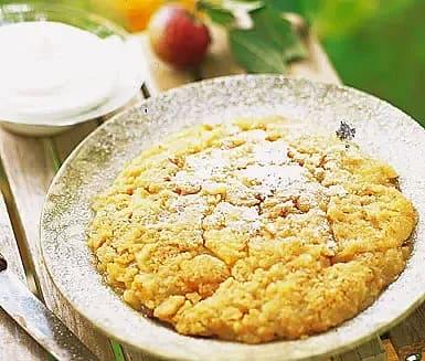 Skånsk äppelkaka