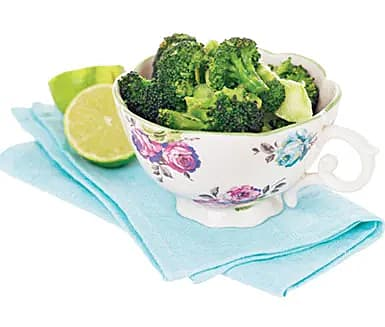 Ingefärsbroccoli raw style