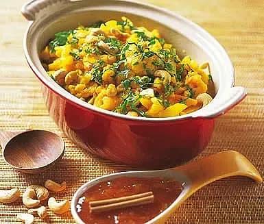 Indisk grönsakscurry