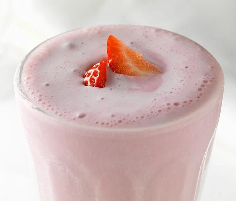 Röd milkshakedröm