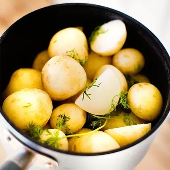hur kokar man potatis