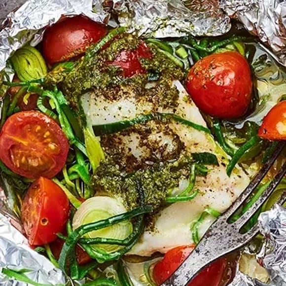 Fisk i folie våra 5 bästa recept | ICA Buffé