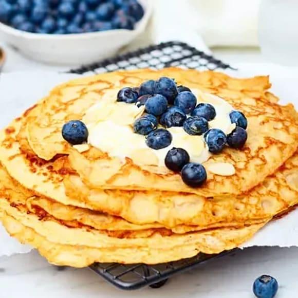glutenfria pannkakor utan ägg