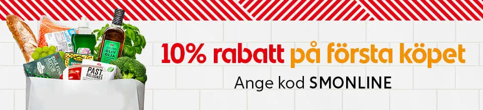 10% på första köpet hos ICA Supermarket Lindesberg