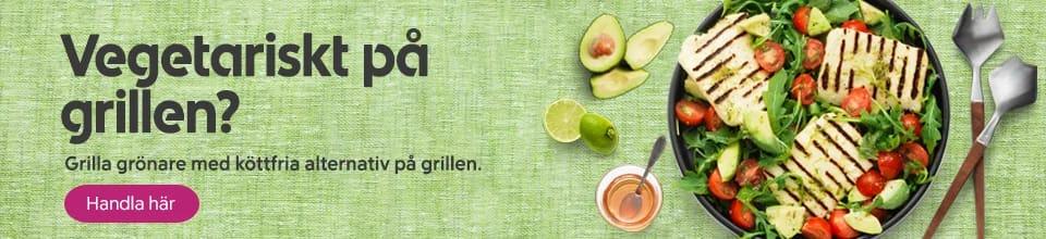 Grilla vegetariskt i helgen?