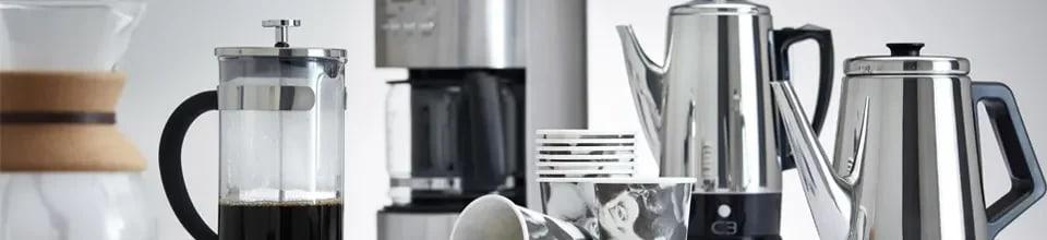 Kaffebryggare, kaffemaskiner & tillbehör