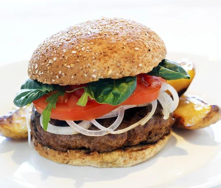 hamburgare recept nötfärs