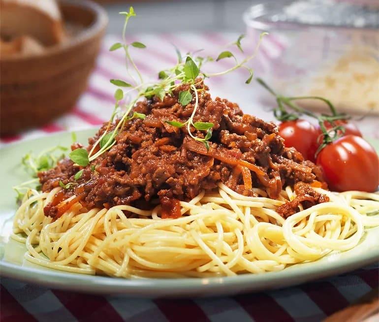 Spaghetti Och Köttfärssås Recept Ica Se