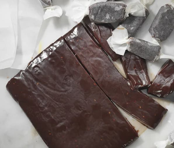 julkola med choklad