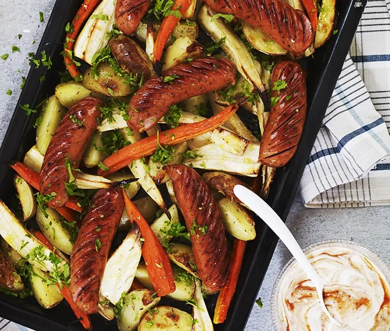 sås till rostade grönsaker