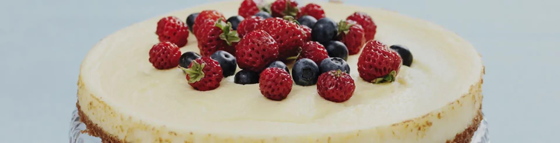 enkel cheesecake recept