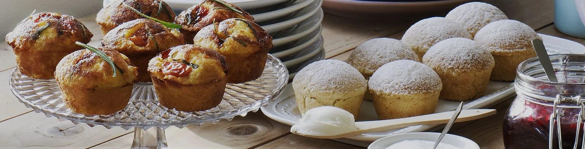 muffins i micro recept