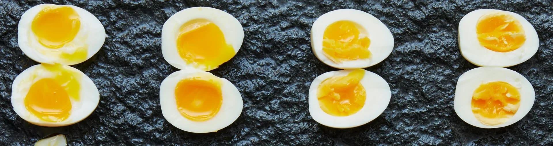 vikt kokt ägg