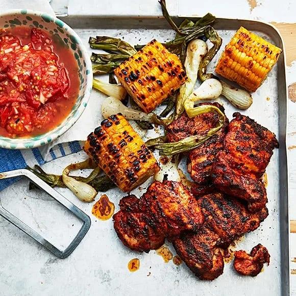 tomatsalsa till grillat