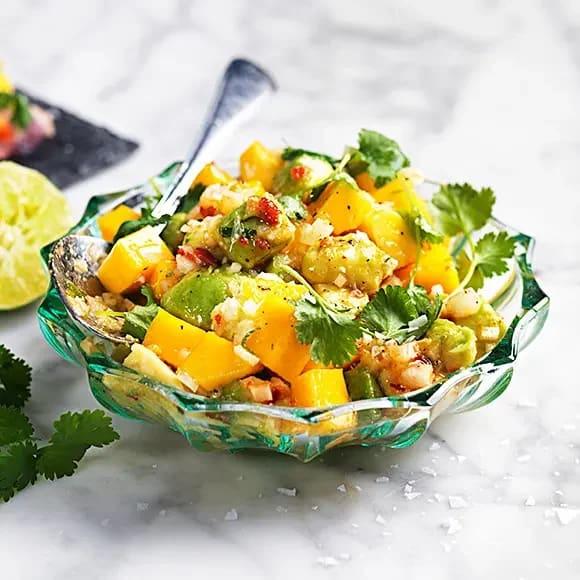 fryst mango recept