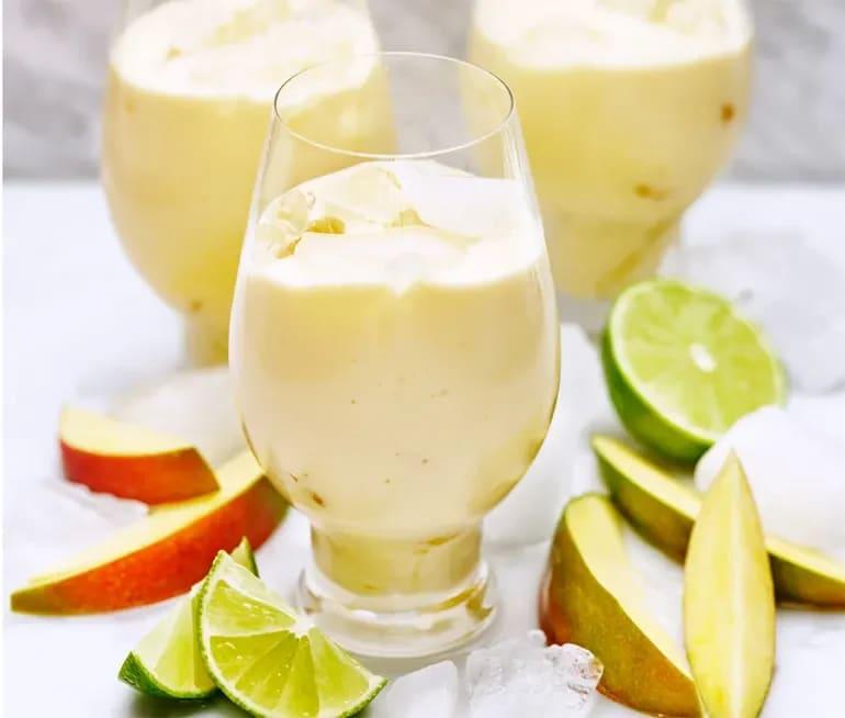 frusen drink med kokosmjölk