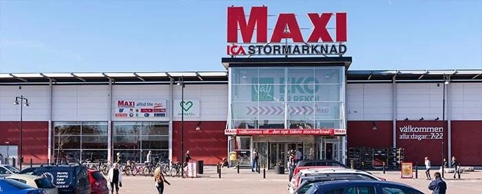 ICA MAXI RÅÅ
