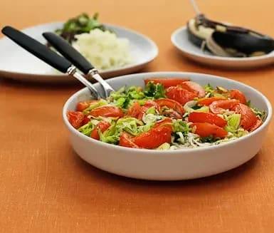torsk i ugn tomat purjolök