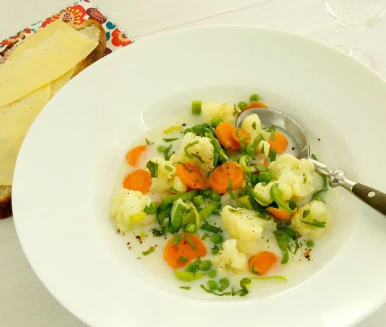 ängamat soppa recept
