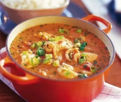 fisksoppa med kokosmjölk och tomat recept
