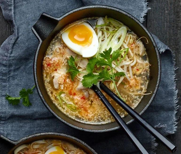 ramen soppa recept