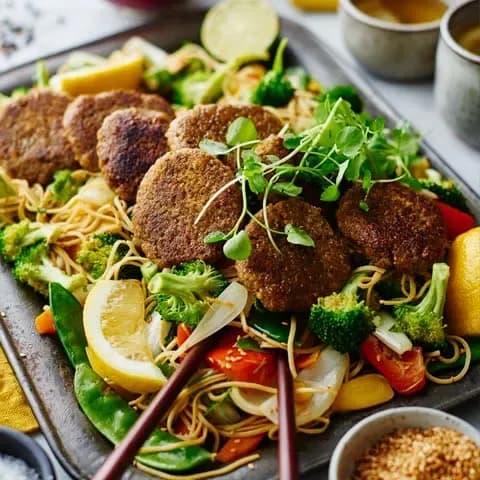 enkla vegetariska maträtter