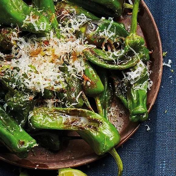 grön paprika recept