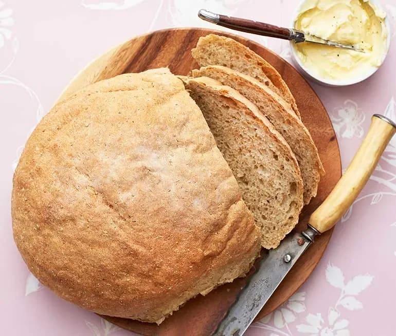 bröd med riven potatis