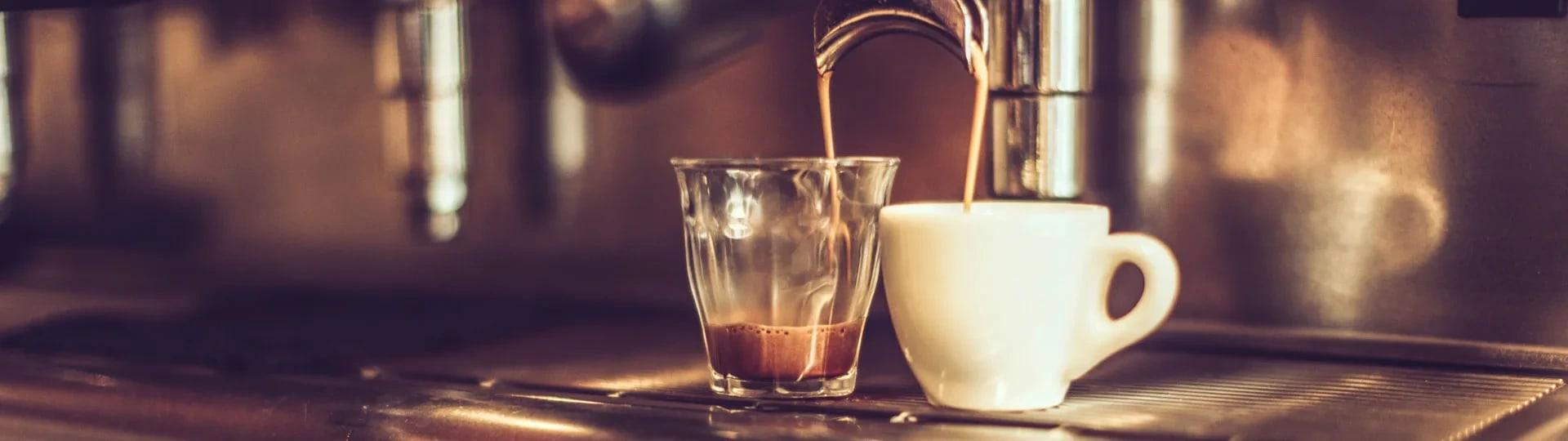 dricka kaffe efter maten