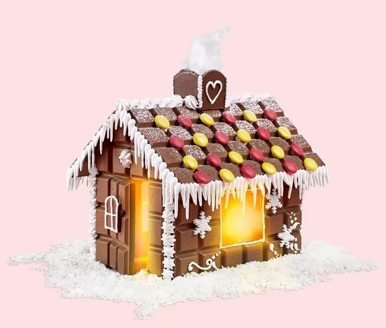 pepparkakshus av marabou choklad
