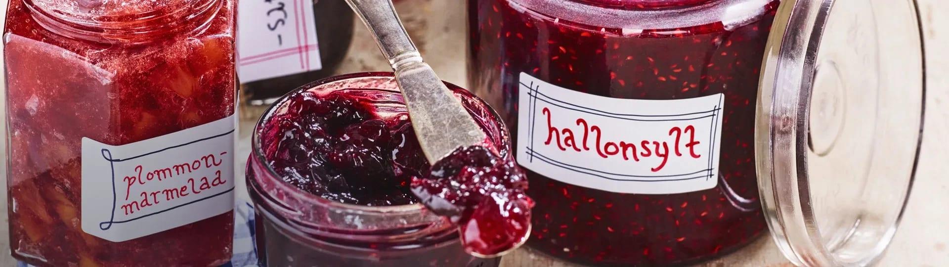 marmelad vs sylt