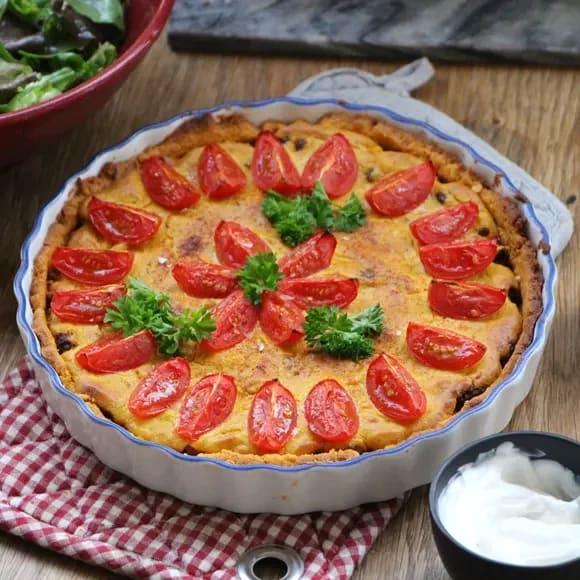 vegansk paj utan ost