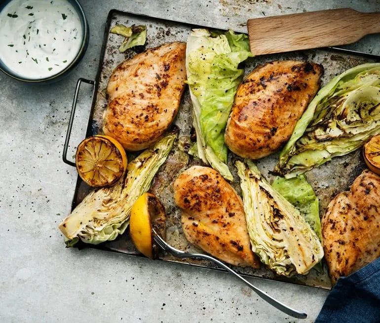 grilla kycklingfile i ugn