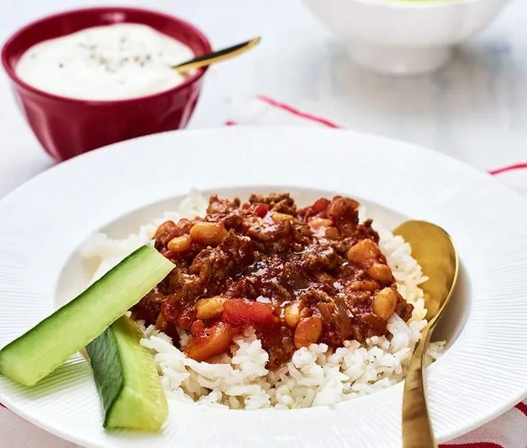 chili con carne heinz vita bönor