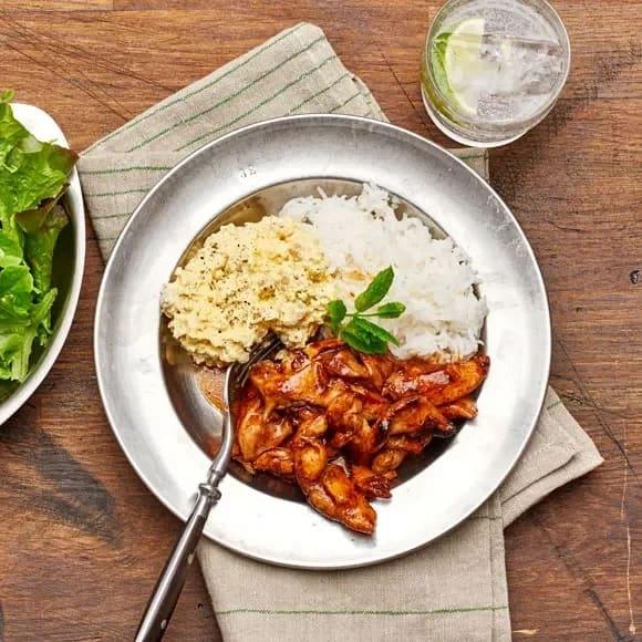 kycklingwok med sweet chilisås