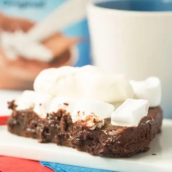 kladdkaka utan kakao med oboy
