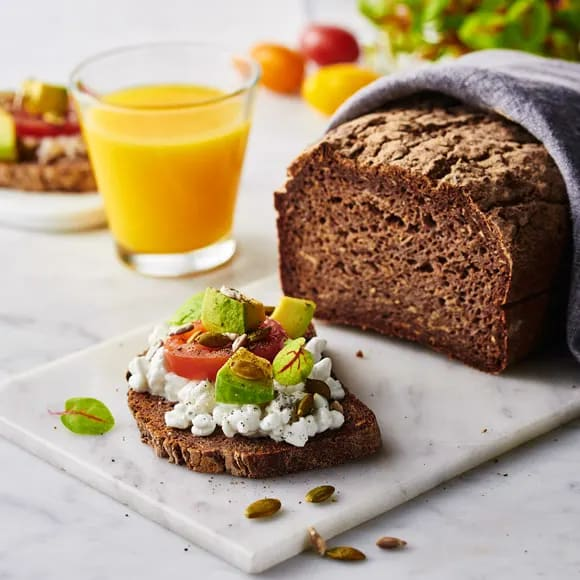 bröd bovetemjöl bakpulver