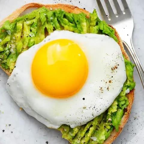 råa ägg protein