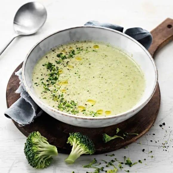 broccolisoppa med ost