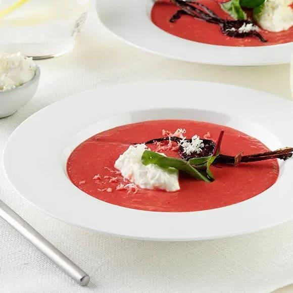 rödbetssoppa förkokta rödbetor