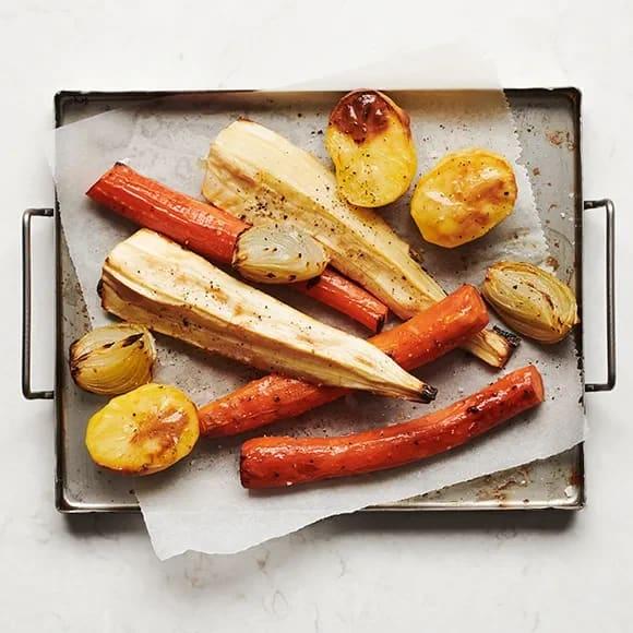 potatis morötter i ugn