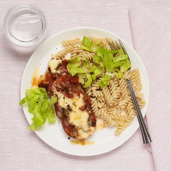 falukorv med pasta i ugn
