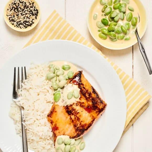 lax med ris recept