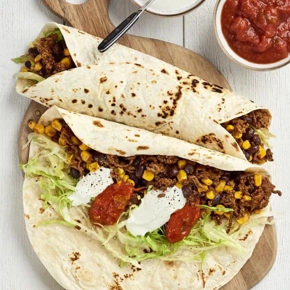 burrito recept vegetarisk