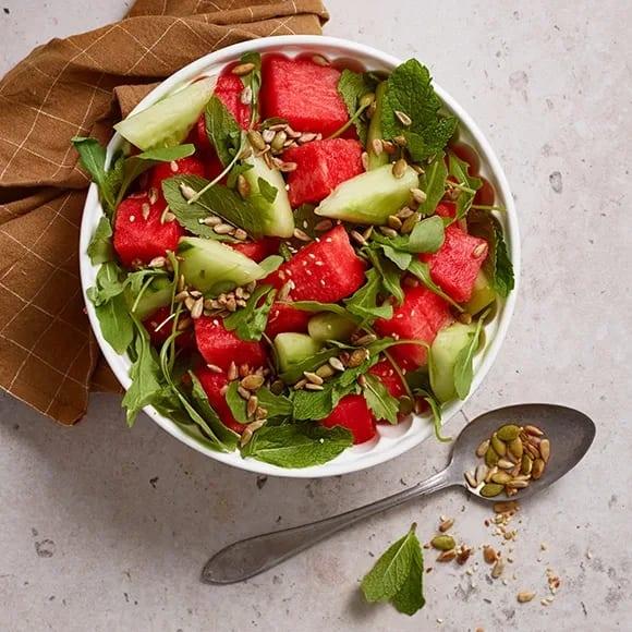 sallad vattenmelon recept