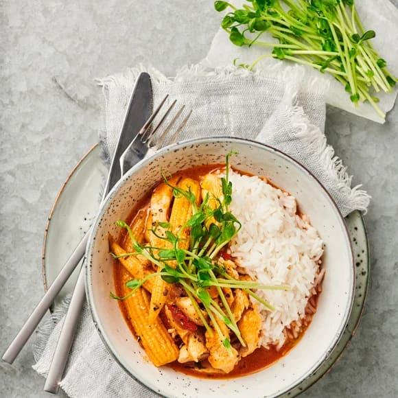 panang curry kyckling