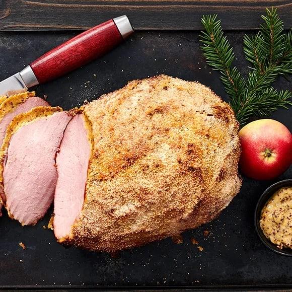 Göra julskinka i ugn