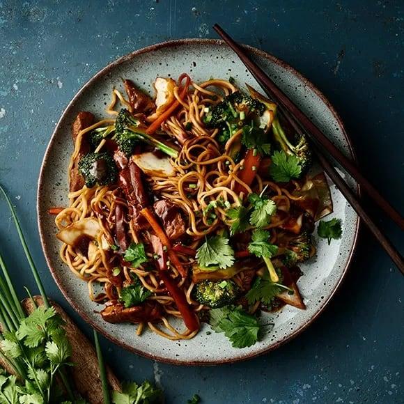 wok recept fläskfile